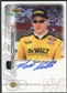 1999 Upper Deck ProSign #MKH Matt Kenseth Gold Autograph