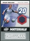 2008 Upper Deck MLS Materials #MM30 Taylor Twellman