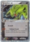 Pokemon POP1 Single Tyranitar ex 17/17 - SLIGHT PLAY (SP)