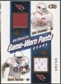 2002 Pacific Heads Up #39 David Boston, Jake Plummer, Corey Dillon, & Peter Warrick Jersey #09/45