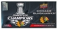 2013 Upper Deck Chicago Blackhawks Stanley Cup Champions Box (Set)