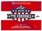2013 Leaf Ink Football Hobby Box