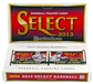 2013 Panini Select Baseball Hobby 12-Box Case