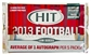 2013 Sage Hit Low Series Football Hobby Pack