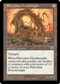 Magic the Gathering Mirage Single Phyrexian Dreadnought - MODERATE PLAY (MP)