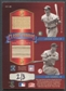 2002 Donruss Classics #18 Ted Williams, Ty Cobb. Jimmie Foxx, & Lou Gehrig Quad Bat #2/3