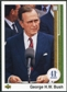 2009 Upper Deck 1989 Design #804 George H.W. Bush