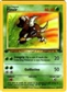 Pokemon Jungle Single 1st Edition Pinsir 9/64