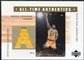 2002/03 Upper Deck Generations All-Time Authentics #MGA Magic Johnson Yellow