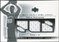 2003/04 Upper Deck Ultimate Collection Jerseys Triple #DR David Robinson /25