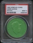 1960 Armour Coin Hank Aaron (Braves) Green PSA 9 (MINT) *8165