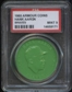 1960 Armour Coin Hank Aaron (Braves) Green PSA 9 (MINT) *8171