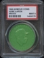 1960 Armour Coin Hank Aaron (Braves) Green PSA 9 (MINT) *8178