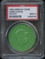 1960 Armour Coin Hank Aaron (Braves) Green PSA 9 (MINT) *8185