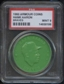 1960 Armour Coin Hank Aaron (Braves) Green PSA 9 (MINT) *8186