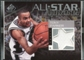 2003/04 Upper Deck SP Game Used All Star Apparel #TPAS Tony Parker