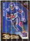 2009 Upper Deck 3D Stars #3D26 David Tyree Eli Manning