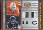 2007 Donruss Gridiron Gear #13 Greg Olsen Player Timeline Jerseys Prime Patch #43/50