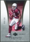 2005 Upper Deck Exquisite Collection #1 Larry Fitzgerald /150