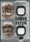 2010 Upper Deck Exquisite Collection Patch Combos #BH Chad Henne Tom Brady /50
