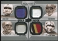 2010 Upper Deck Exquisite Collection Patch Quads #AEYM Troy Aikman Dan Marino John Elway Steve Young 14/15