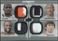 2010 Upper Deck Exquisite Patch Quads #BTWS Dez Bryant Jordan Shipley Mike Williams Demaryius Thomas /15