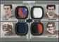 2010 Upper Deck Exquisite Collection Patch Quads #FPTB Tim Tebow Carson Palmer Sam Bradford Doug Flutie /15