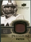 2010 Upper Deck Exquisite Collection Premium Patch #EPPBK Bernie Kosar /50