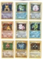 Pokemon Base Set 1 Complete Set UNPLAYED (NM/MT) 1-102 - 1st Edition Shadowless