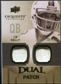 2010 Upper Deck Exquisite Collection Single Player Dual Patch #EDPJK Jim Kelly /25