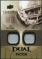 2010 Upper Deck Exquisite Collection Single Player Dual Patch #EDPTB Tim Brown /25