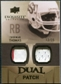 2010 Upper Deck Exquisite Collection Single Player Dual Patch #EDPTT Thurman Thomas /25