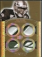 2010 Upper Deck Exquisite Collection Rare Materials Gold #ERMGJ Greg Jennings 2/3