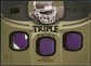 2010 Upper Deck Exquisite Collection Single Player Triple Patch #ETPAP Adrian Peterson /75