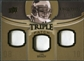 2010 Upper Deck Exquisite Collection Single Player Triple Patch #ETPTB Tom Brady /75