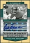 2004 Upper Deck Legends Legendary Signatures #LSCF Chuck Foreman Autograph