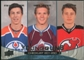 2011/12 Upper Deck #250 Ryan Nugent-Hopkins Gabriel Landeskog Adam Larsson
