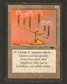 Magic the Gathering Antiquities Single Candelabra of Tawnos - MODERATE PLAY (MP)