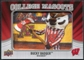 2012 Upper Deck College Mascot Manufactured Patch #CM59 Bucky Badger A