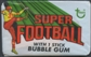 1970 Topps Super Football Wax Pack