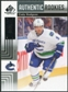 2011/12 Upper Deck SP Game Used #197 Cody Hodgson RC 52/99