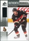 2011/12 Upper Deck SP Game Used #104 David Rundblad RC /699