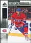 2011/12 Upper Deck SP Game Used #123 Brendon Nash RC /699