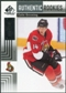 2011/12 Upper Deck SP Game Used #127 Colin Greening RC /699