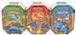 2014 Pokemon EX Power Trio Tin - Set of 3 (Charizard-EX, Venusaur-EX, Blastoise-EX)