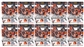2014 Panini Rookies & Stars Football 8-Pack Box (Lot of 10)