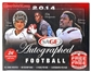2014 Sage Autographed Football Hobby Box