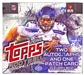 2014 Topps Football Jumbo Box