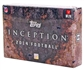 2014 Topps Inception Football Hobby 8-Box Case