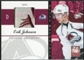 2011/12 Panini Elite Materials Patches #17 Erik Johnson /15